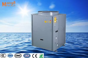 Direct Heating Air Source Heat Pump 11.8kw/ 19.8kw /23.2kw Heating Capacity with R407 R417 Refrigerant