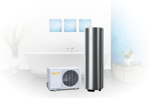 Passed Certificate Ce/FCC/RoHs/TUV 4.8kw Heating Capacity with 300L Tank Air Source Heat Pump