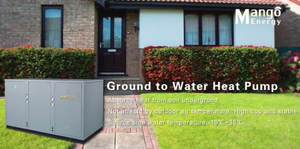 High Cop Underfloor Heating and Cooling Geothermal Source Heat Pump