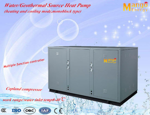Water to Water/Geothermal Source Heat Pump for Home/Commercial Use