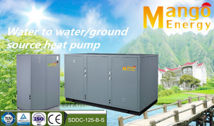 Heating Mode 10.5kw/11.8kw/21.3kw/25.2kw/42.6kw...Geothermal Source Heat Pump for Domestic and Commercial