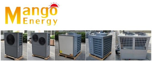 Heat Exchanger Air to Water Heat Pump