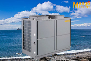 Multi-Mode Free Switching Cascade System Air to Water Heat Pump (hot water/cooling/heating/hot water+cooling...)