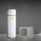 House Use Air Source Heat Pump Water Heater with Water Tank 3.26kw 4.8kw 6.5kw Heating Capacity