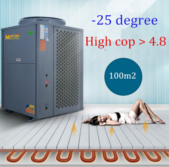2016 New Design Split Type Low Temperature Evi Air to Water Heat Pump