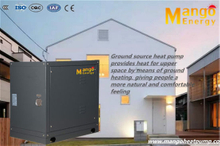 High Cop Geothermal Source Heating Heat Pumps