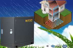 10.4-49.4kw Multifunction Ground Source Geothermal Water to Water Source Heat Pump