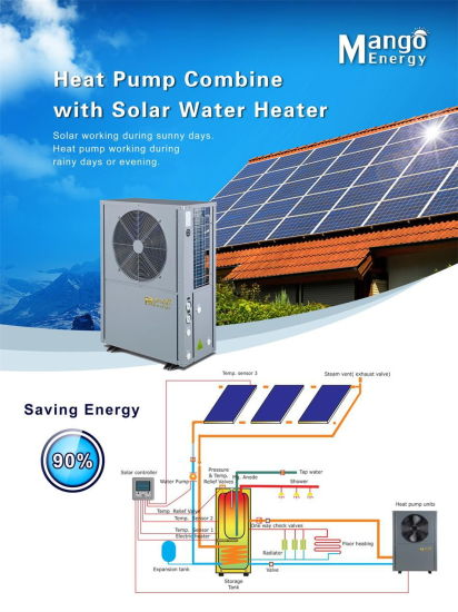 Power World All in One Energy -Saving Air Source Heat Pump Water Heater