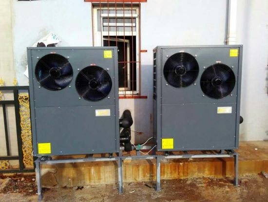 Swimming Pool SPA Sanna Jacuzzi Heat Pump for France Market R410A.