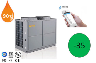 OEM Cooling/Heating/High Temperature Hot Water Cascade System Heat Pump 18.9kw/26.46kw/37.8kw/48.72kw/56.28kw.