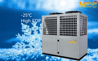 R407c Air to Water Evi Heat Pump 32.8kw