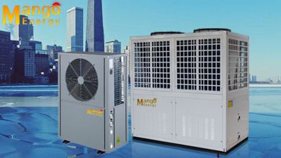 10kw-90kw Normal Air Source Heat Pump Water Heater