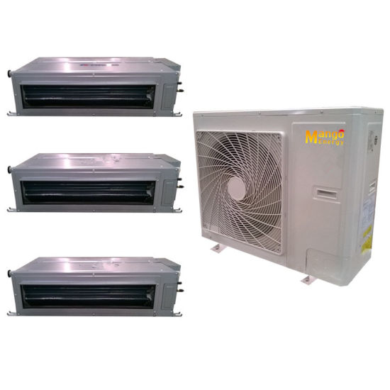 Central Air-Conditioning Low Noise R410A 220V-50Hz/60Hz Heating and Cooling