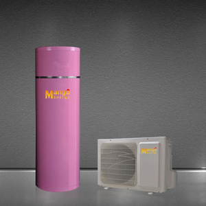 R407c Gas Refrigerant Air Source Heat Pump with Water Tank