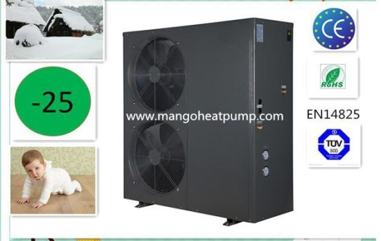 Monoblock Side Fan Evi DC Inverter Air to Water /Air Source Heat Pump
