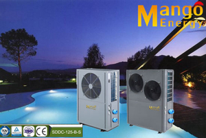 Swimming Pool Heat Pumps Usetitanium Tube Exchanger Heating Capacity: 10.5kw/20kw/40kw/47kw.