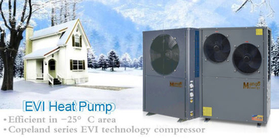 Hot Sale! ! ! (heating+cooling, monoblock type) Evi Air to Water Heat Pump