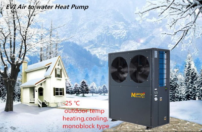 Cheap Price on Sale Ce Approved Monoblock Evi Air Source Heat Pump 20kw