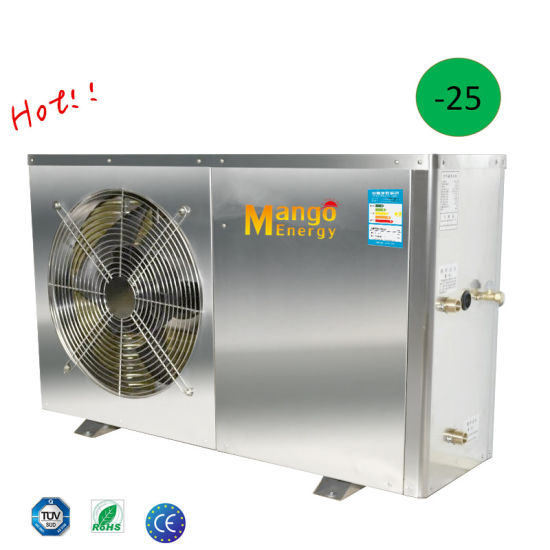 with High Cop Xze-12b/13b Suitble Northern Europe -25 Degree Air to Water Heat Pump