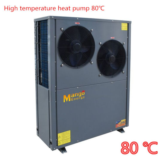Mango Heat Pump for Radiator Heating, Fan Coil, Floor Heating and Hot Water 80 C Degree High Temp Heat Pump