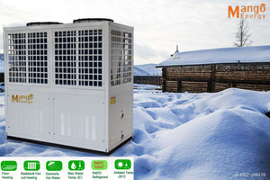Ce Approved High Cop Low Noise Air Source Evi Heat Pump, Keep Working at -25degree Ambinent Temp