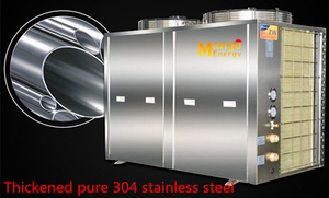 Titanium Tube Heat Exchanger Swimming Pool Heat Pump (Custom made stainless steel sheet metal)
