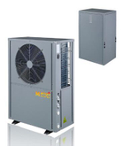 Splite Evi Air Source Heat Pump (high efficiency shell and tube heat exchanger)